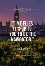 Time flies. It's up to you to be the navigator.